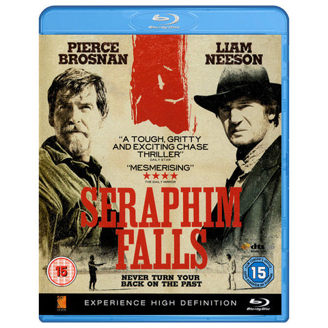 SERAPHIM FALLS blu-ray front cover