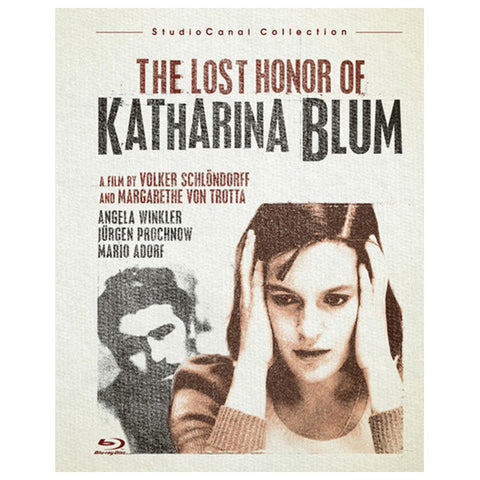 THE LOST HONOR OF KATHARINA BLUM blu-ray front cover