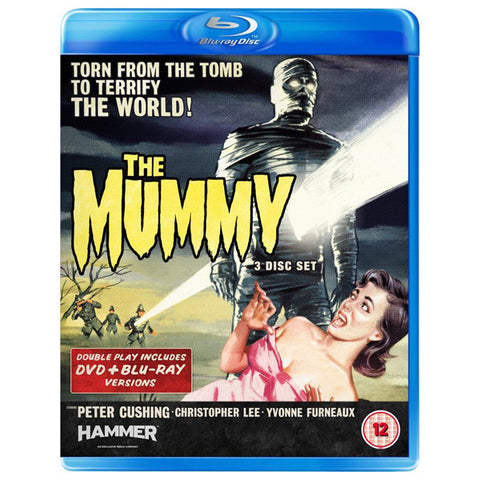THE MUMMY blu-ray front cover