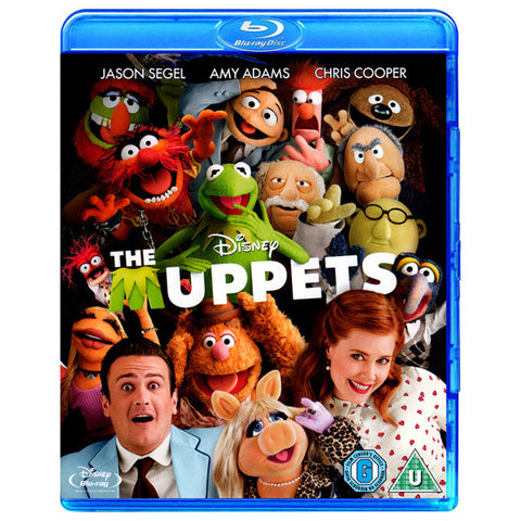 THE MUPPETS blu-ray front cover