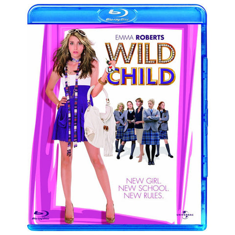 WILD CHILD blu-ray front cover