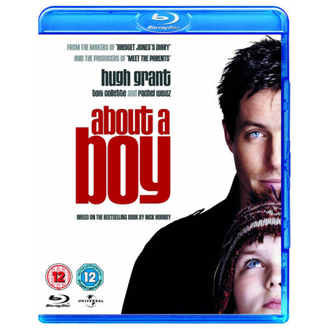 ABOUT A BOY blu-ray front cover