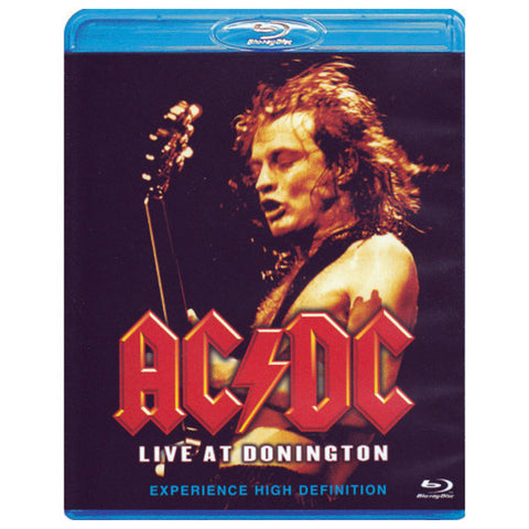 AC/DC: LIVE IN DONNINGTON blu-ray front cover