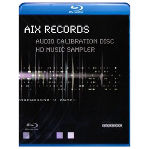 A/X RECORDS AUDIO CALIBRATION DISC blu-ray front cover