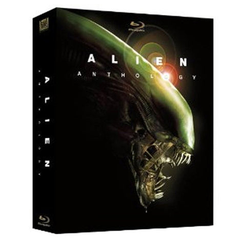 ALIEN ANTHOLOGY(alien/aliens/alien 3) blu-ray front cover