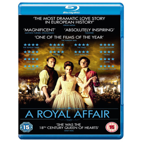 A ROYAL AFFAIR blu-ray front cover