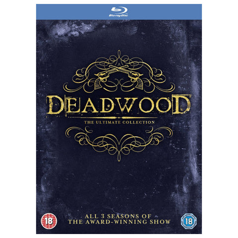 deadwood: the ultimate collection front cover