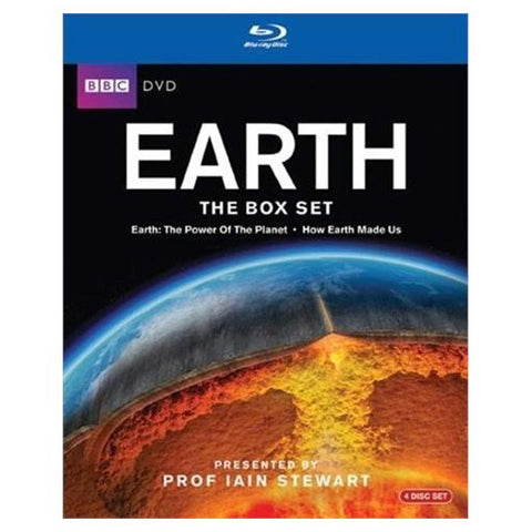 EARTH: THE BOX SET blu-ray front cover