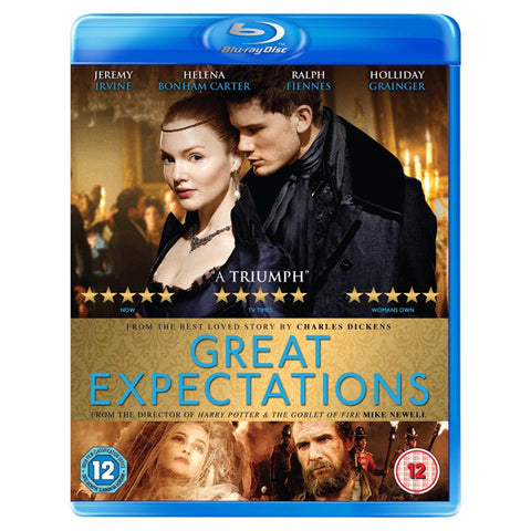 GREAT EXPECTATIONS blu-ray front cover