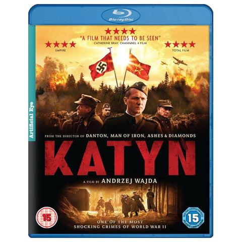 KATYN blu-ray front cover