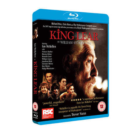 KING LEAR blu-ray front cover