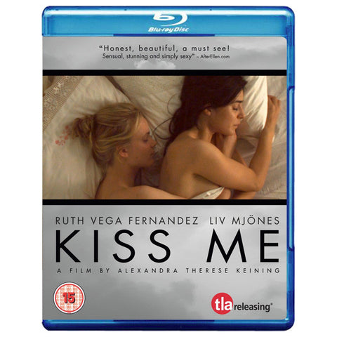 KISS ME blu-ray front cover