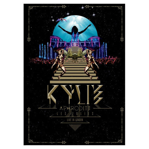 KYLIE MINOGUE: APHRODITE LES FOLIES LIVE IN LONDON blu-ray front cover