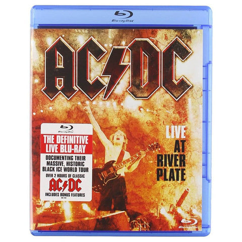 AC/DC: LIVE AT RIVER PLATE blu-ray front cover