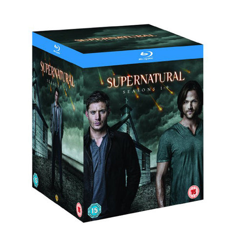supernatural: seasons 1-9 front cover