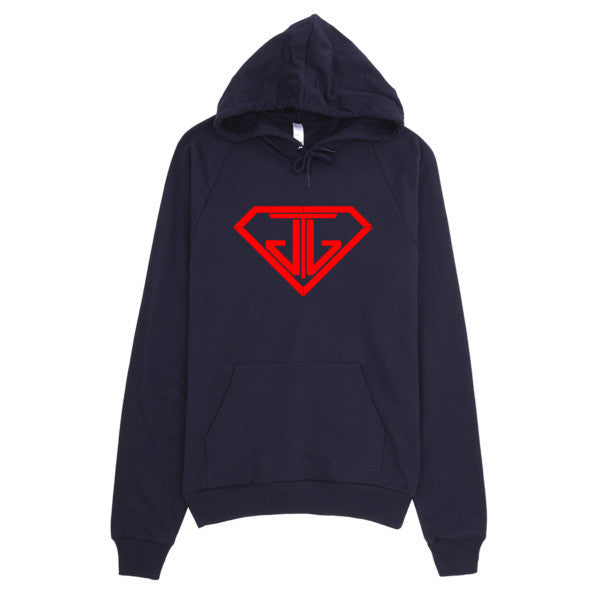 JTJ Classic Blood Red Logo Hoodie