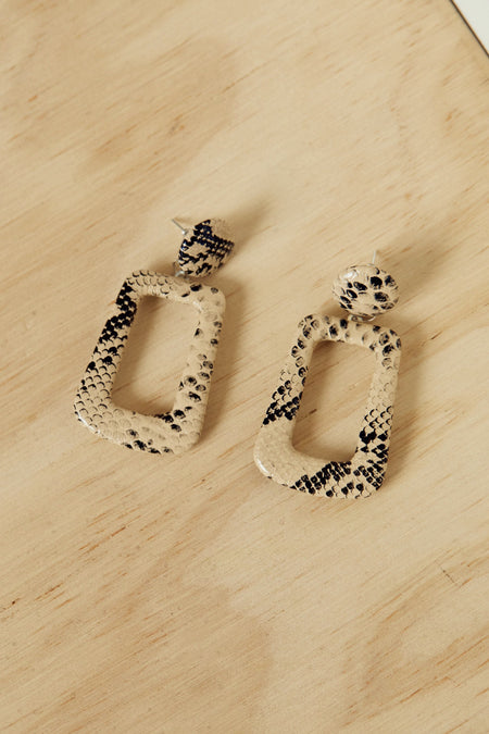 Chain Of Command Earrings