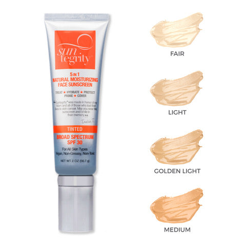 Suntegrity - Natural Tinted Moisturizing Face Protection