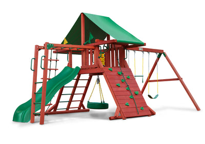 Gorilla Playsets Sun Valley II Swing Set - Swing Set Paradise