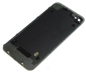 iPhone 4S Back Glass Black - NO APPLE LOGO OR WRITING - Wholesale Smartphone Parts - lcdcycle.com