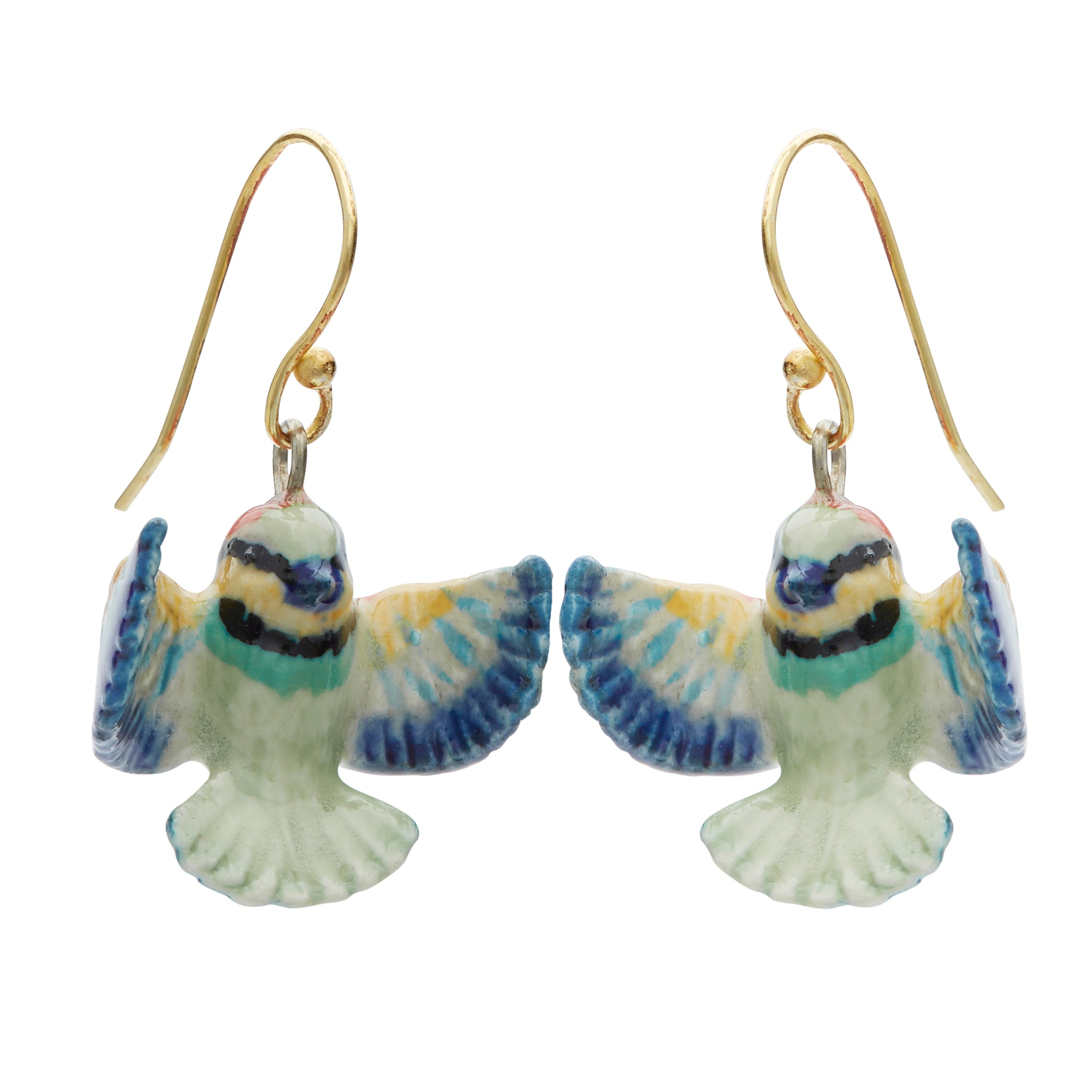Bright Bee Eater Drop Earrings