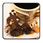 Triple Pleasure Flavored Coffee; Chocolate, Caramel and Hazelnut