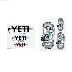 YETI - 17 Piece Sticker set !