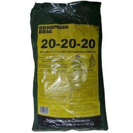 20-20-20 Water Soluble Fertilizer with Minor Elements