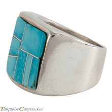 Load image into Gallery viewer, Navajo Native American Turquoise Ring Size 12 by Richard Bitsie SKU225478