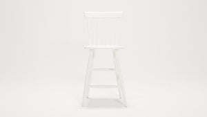 lyla side stool (white)