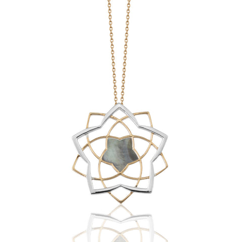 Lotus Shadow Necklace