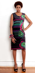 Cactus Rose Majorelle Dress