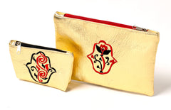 Moroccan Color Riot Purse (Gold)