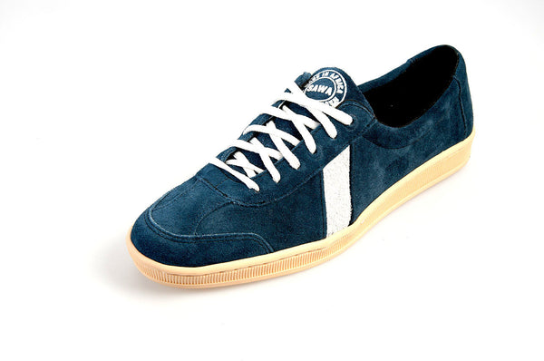 Blue Suede Lowtop Sneakers