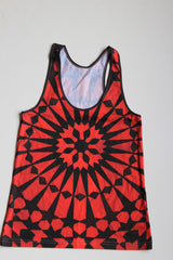Marrakesh Red Orange Tank