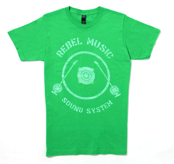 REBEL MUSIC SOUND SYSTEM (Mens) KELLY GREEN
