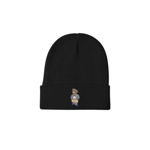 'Cholo Bear' Beanie (Black)