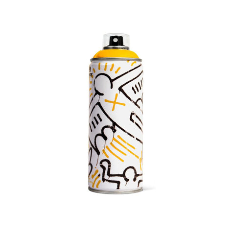 'Keith Haring Special Edition' *Light Yellow* (Spray Can)