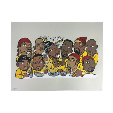 'Last Wu Supper' Poster (18x24) *signed & numbered*
