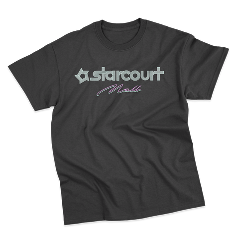 'Starcourt Mall' T-Shirt (Black)