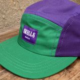 'Green' Purple 5-Panel Hat