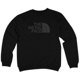 'The Metal Face' Crewneck Sweatshirt (Black)
