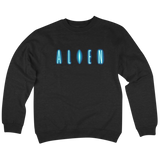 'Alien' Crewneck Sweatshirt (Black)