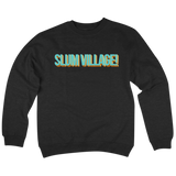 'Slum Village' Crewneck Sweatshirt (Black)
