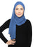 Lux Turban Chiffon Shawl - Moonlight Blue