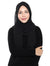 Textured Chiffon Shawl Onesie - Black