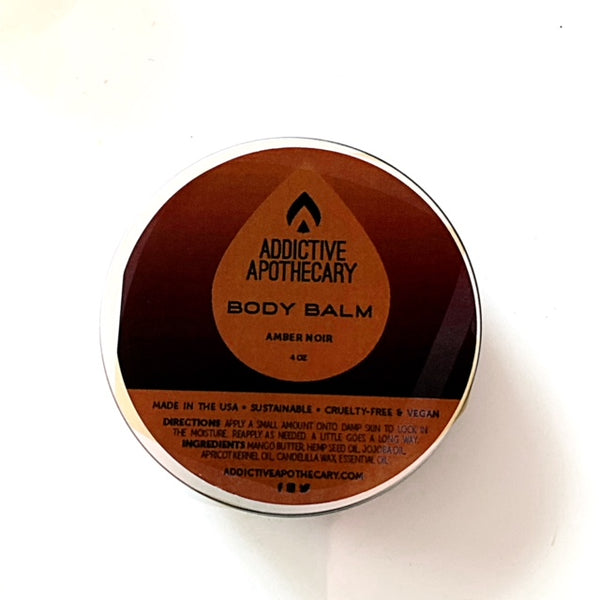 Amber Noir Men's Body Balm