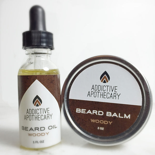 Woody Beard Treatment Set