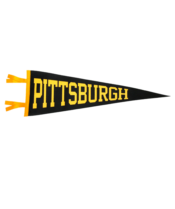 Pittsburgh Pennant - Steel City