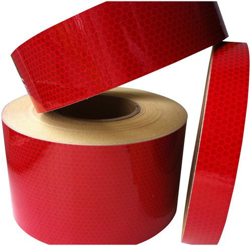 High Intensity Reflective Tape - Red 25mm*36m